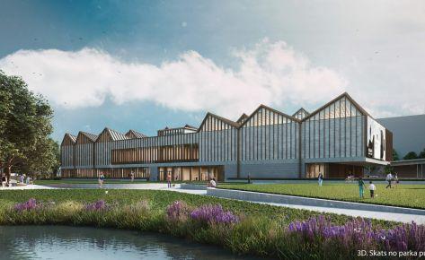 Latvijas Laikmetīgās mākslas muzeja jaunbūve