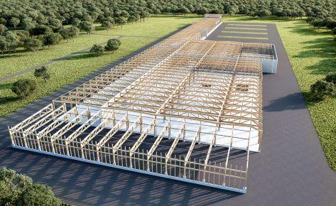 Реконструкция и новое строительство завода